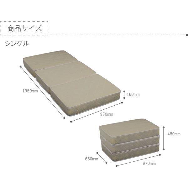 選べる収納ベッド シングル(ボンネルコイルマットレス付) (ロータイプ:引出し×2)ブラウン