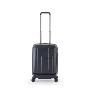 スーツケース/キャリーバッグ 【マットブラック】 36L 機内持ち込み可 アジア・ラゲージ 『Sparkle』