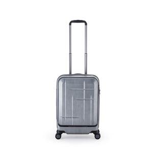 スーツケース/キャリーバッグ 【マットブラッシュブラック】 36L 機内持ち込み可 アジア・ラゲージ 『Sparkle』 - 拡大画像