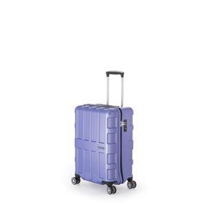 ファスナー式スーツケース/キャリーバッグ 【アイスブルー】 40L 機内持ち込み可能サイズ アジア・ラゲージ 『MAX BOX』