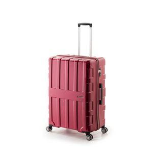 大容量スーツケース/キャリーバッグ 【パープリッシュピンク】 96L 軽量 アジア・ラゲージ 『MAX BOX』 手荷物預無料最大サイズ