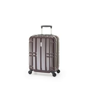 スーツケース/キャリーバッグ 【カーボンワイン】 拡張式(40L+7L) 機内持ち込み可 ファスナー アジア・ラゲージ 『ALIMAX』