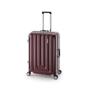 スーツケース/キャリーバッグ 【カーボンレッド】 82L ダイヤル式 TSAロック アジア・ラゲージ 『MAX SMART』