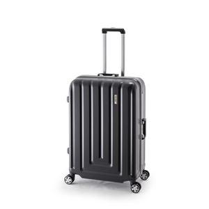 スーツケース/キャリーバッグ 【カーボンブラック】 82L ダイヤル式 TSAロック アジア・ラゲージ 『MAX SMART』