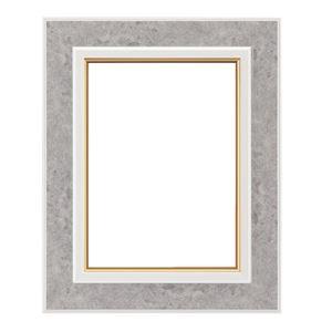 軽量 油絵額物/油額 【P10 ホワイト】 表面カバー:アクリル 『まじかるフレーム』