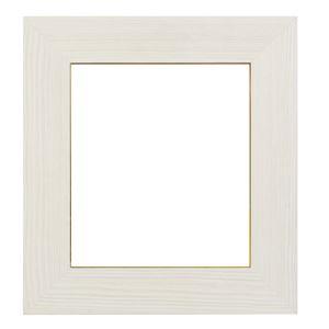 フラット型 色紙額/色紙フレーム 【8×9 ホワイト】吊金具付き
