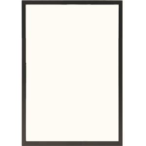 多目的フレーム/額縁【B3ブラック】表面カバー:UVカット機能付きPET『かる!フレーム』