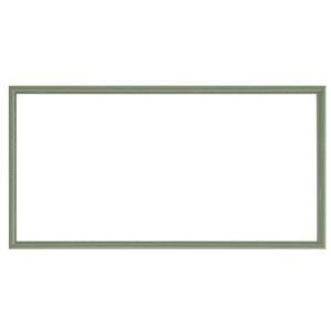 ナチュラル仕様額縁/フレーム【横長型600×300グリーン】吊金具付き木製
