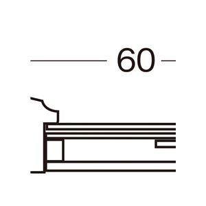 色紙額縁/フレーム 【ナラ エンジ】 縦36....の紹介画像2