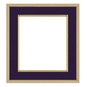 4931 色紙 ナラ/紺 【36.8×41×3.4cm】