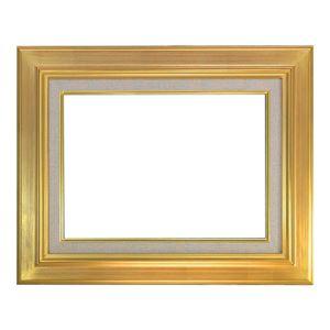 大額 油額 M20 ゴールド アクリル【65.6×89.2×6.1cm】