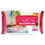 昭和紙工 JEL電解水+セスキテーブル&リビング用シート20枚 × 5 点セット