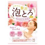 牛乳石鹸共進社 お湯物語 ぜいたく泡とろ 入浴料 ジュエリーローズの香り 1包・30g × 5 点セット