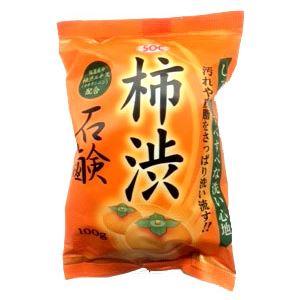 渋谷油脂 SOC柿渋石鹸100G × 6 点セット