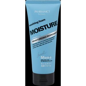 熊野油脂 ファーマアクト メンズ モイスチャー洗顔フォーム 130g × 5 点セット