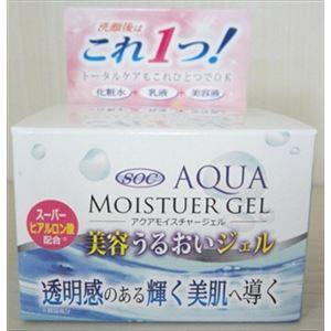 渋谷油脂 SOCアクアモイスチヤー美容ジエル100G × 3 点セット