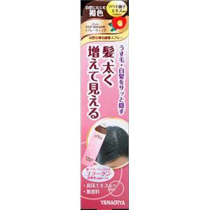 柳屋本店 レディース トップシェード スプレーウィッグ 【自然になじむ褐色】N