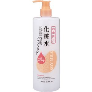 熊野油脂四季折々豆乳イソフラボン化粧水×3点セット