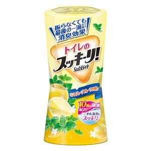 (まとめ)アース製薬 トイレのスッキーリ!ミントグレープフルーツの香り 【×5点セット】