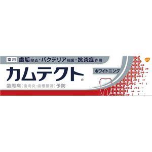 (まとめ)グラクソスミスクラインカムテクトホワイトニング105g【×3点セット】