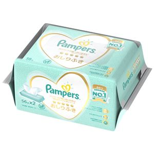 P&G パンパース 肌へのいちばん おしりふき 2パック × 3 点セット
