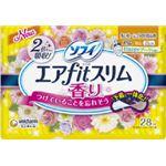 ユニ・チャーム ソフィエアフィットスリムハッピーブーケの香り210羽なし28枚 × 5 点セット