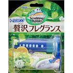 ジョンソン スクラビングバブルトイレスタンプぜいたくフレグランスアロマティックグリーンの香り × 5 点セット