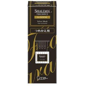 エステー SHALDAN フレグランス for ROOM つめかえ ベルベットムスク × 5 点セット