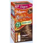 ホーユー ビゲン 香りのヘアカラー 乳液 3RB リッチブラウン × 3 点セット