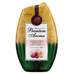 エステー お部屋の消臭力 Premium Aroma エレガントローズ&ゼラニウム × 5 点セット