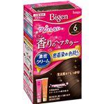 ホーユー ビゲン 香りのヘアカラー クリーム 6 ダークブラウン × 3 点セット