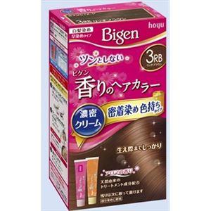 ホーユー ビゲン 香りのヘアカラー クリーム 3RB リッチブラウン × 3 点セット