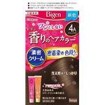 ホーユー ビゲン 香りのヘアカラー クリーム 4A アッシュブラウン × 3 点セット