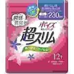 日本製紙クレシア ポイズ 肌ケアパッド 超スリム 特に多い時・長時間も安心用 12枚 × 3 点セット