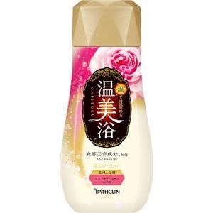 バスクリン 温美浴 コンフォートローズの香り 480g × 3 点セット