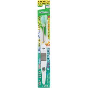 フクバデンタル フッ素イオン歯ブラシ極細レギュラー本体ふつう × 6 点セット