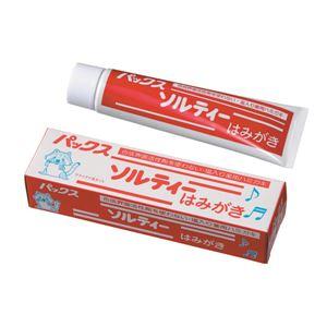 (まとめ)太陽油脂パックスソルテイハミガキ80G【×10点セット】