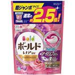P&G ボールドジェルボール3D癒しのプレミアムブロッサムの香りつめかえ用超ジャンボサイズ × 3 点セット