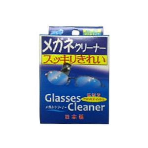 (まとめ)昭和紙工JELメガネクリーナー25包入【×20点セット】
