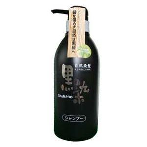 (まとめ)黒ばら本舗黒染ヘアシャンプー500ml【×3点セット】