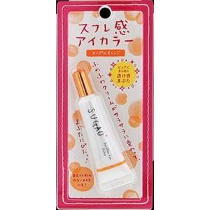 ロート製薬 SUGAO スフレ感アイカラー メープルオレンジ 7g × 6 点セット