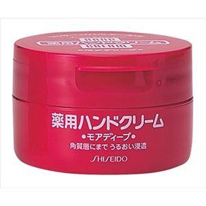 (まとめ)資生堂 ハンドクリーム 薬用モアディープ100G ジャータイプ 【×12点セット】