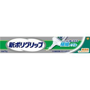 (まとめ)グラクソスミスクライン新ポリグリップ極細ノズル70g【×6点セット】