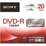 【ケース販売】 ソニー DVD‐R シルバー20枚 20DMR12MLDS × 6 点セット