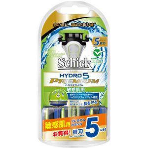 シック(Schick) ハイドロ5プレミアム敏感肌用コンボパック(替刃5コ付) × 6 点セット
