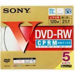 【ケース販売】 ソニー DVD‐RW 5P 5MDW12HPS × 20 点セット