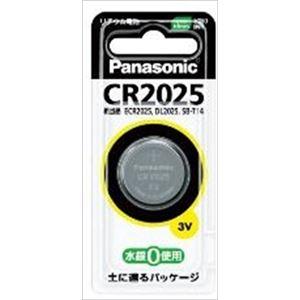 【ケース販売】 パナソニック CR2025P リチウムコイン電池 × 100 点セット
