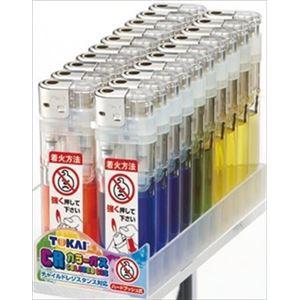 【ケース販売】 東海 CR P2カラーガス電子ライター (PSCマーク付) 5色のうちいずれか1色 × 60 点セット