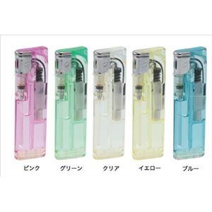【ケース販売】 ライテック CRスムージーライト電子ライターPSCマーク付 × 60 点セット