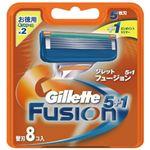 【ケース販売】 ジレット フュージョン5+1替刃8B × 40 点セット